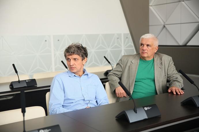 Сергей Сорокин, директор системы HIVE, посетил СГУГиТ